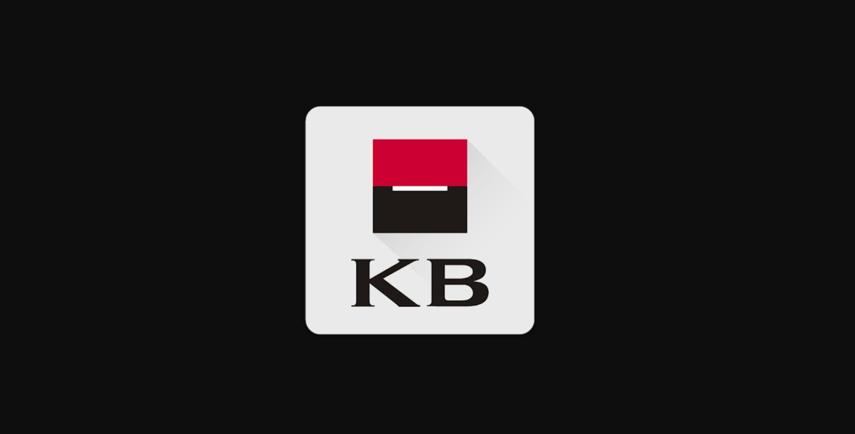 Mobilní banka od KB nově nejen s tmavým režimem.