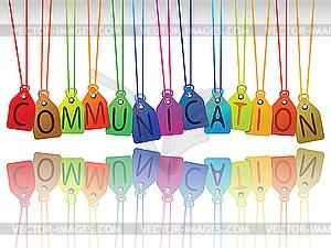 School communication clipart.