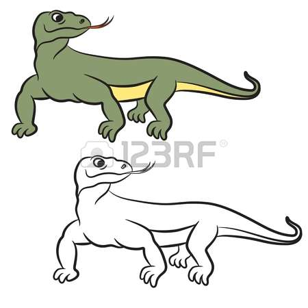 106 Komodo Stock Vector Illustration And Royalty Free Komodo Clipart.