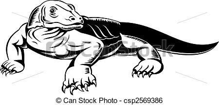 Komodo Illustrations and Clip Art. 46 Komodo royalty free.
