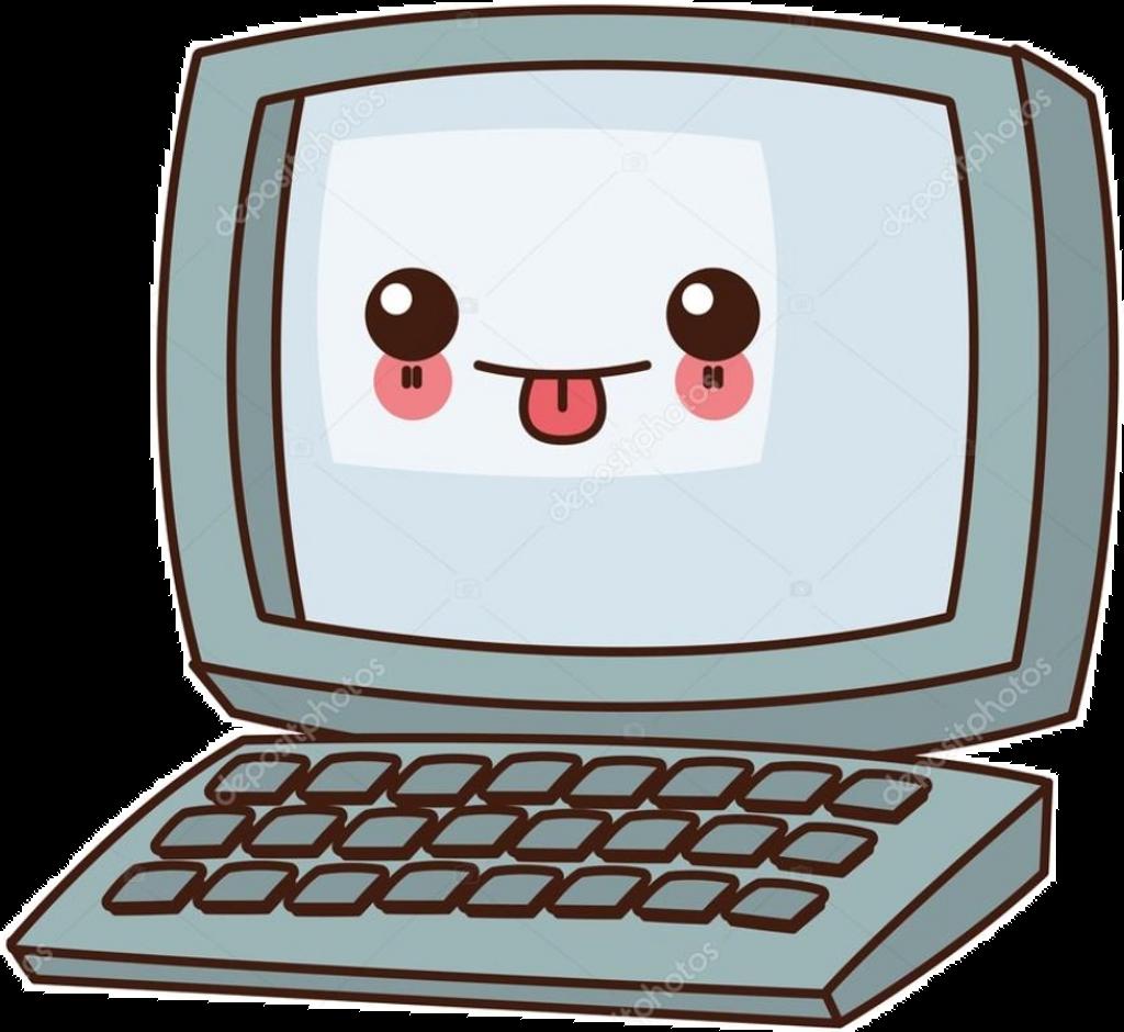 nalepki #kawaii #komputer.
