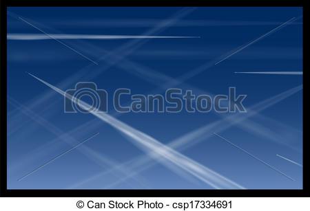 EPS Vektoren von blaues, motorflugzeug, himmelsgewölbe.