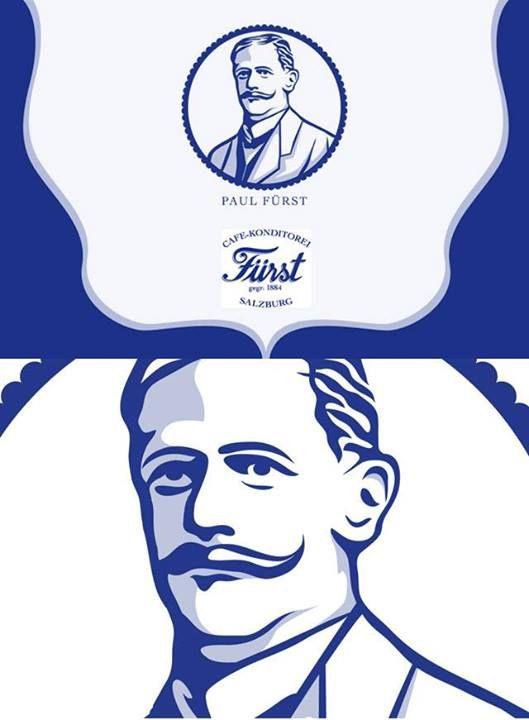 Illustrated brandmark for an austrian chocolate manufacturer.