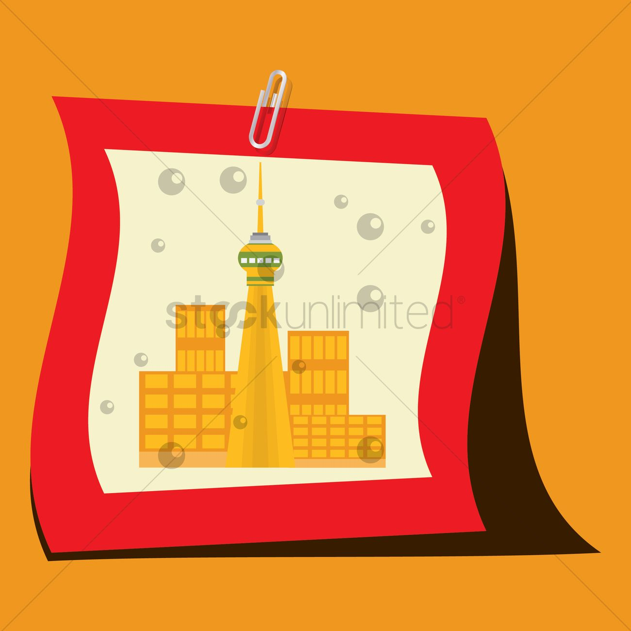 Silhouette background of asian cities Vector Image.