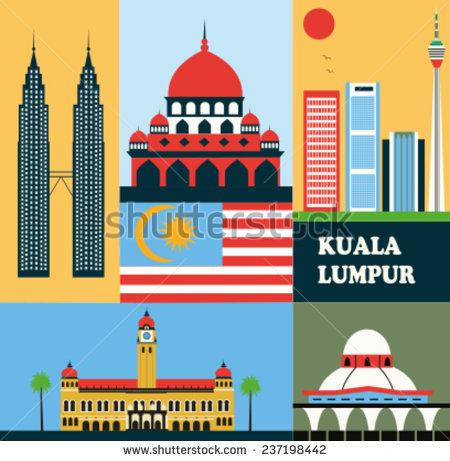 Kuala Lumpur Tower Stock Vectors, Images & Vector Art.