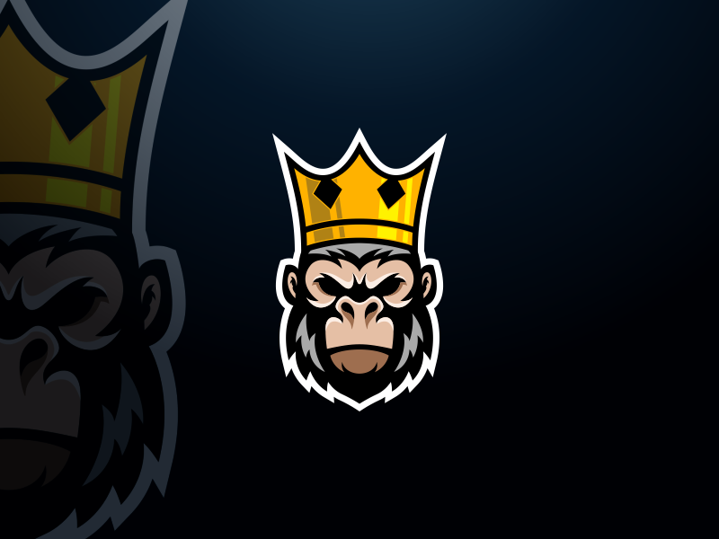 King Kong logo design by Grafas Studio on Dribbble.