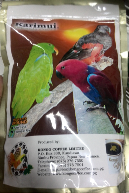 Papua New Guinea Coffee review.