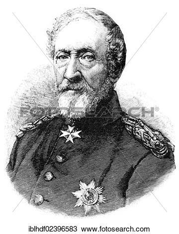 "Stock Photo of ""Historical illustration, portrait of Karl."