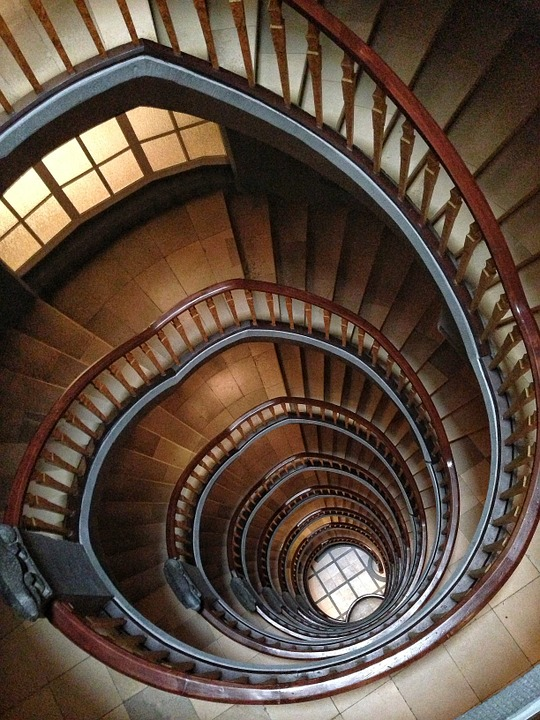 Free photo: Stairs, Building, Architecture.