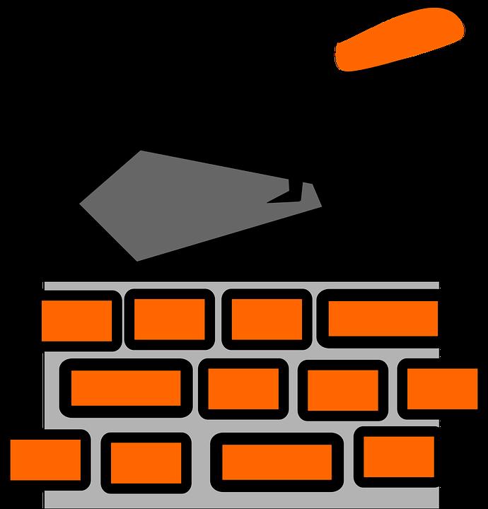 Free vector graphic: Brick Layer, Bricks, Wall, Spattle.