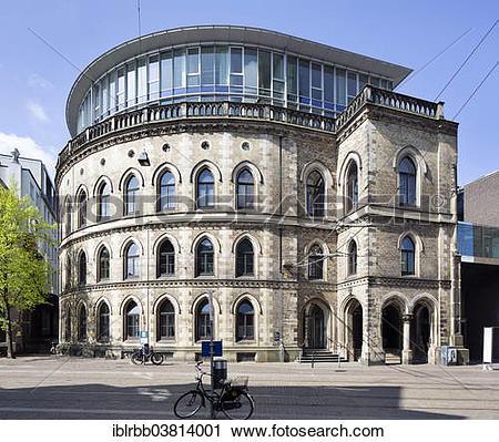 "Stock Photography of ""Kontorhaus Borsenhof A or Exchange Court A."