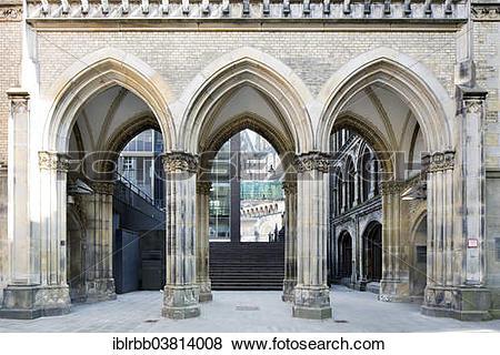 "Pictures of ""Kontorhaus Borsenhof A or Exchange Court A, built in."
