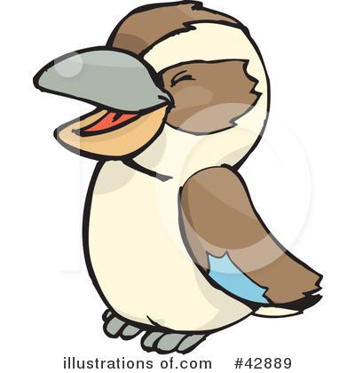 Kookaburra Clipart #42889.