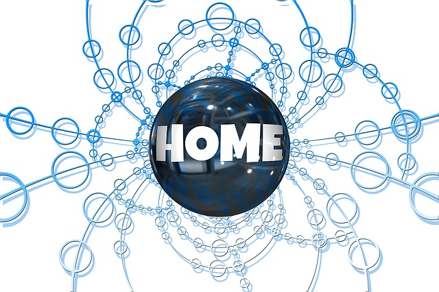 Free illustration: Network, Networking, Home.