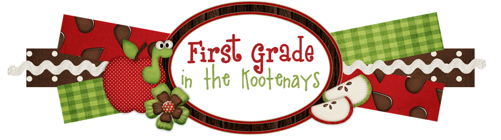 First Grade in the Kootenays: January 2013.