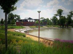 MassArt Residence Hall Landscape, precast bench, designed by.
