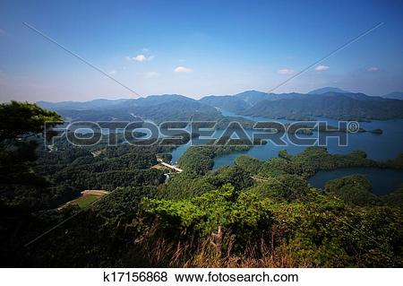 Pictures of Beautiful landscape in South Korea,Chungjuho,Crocodile.
