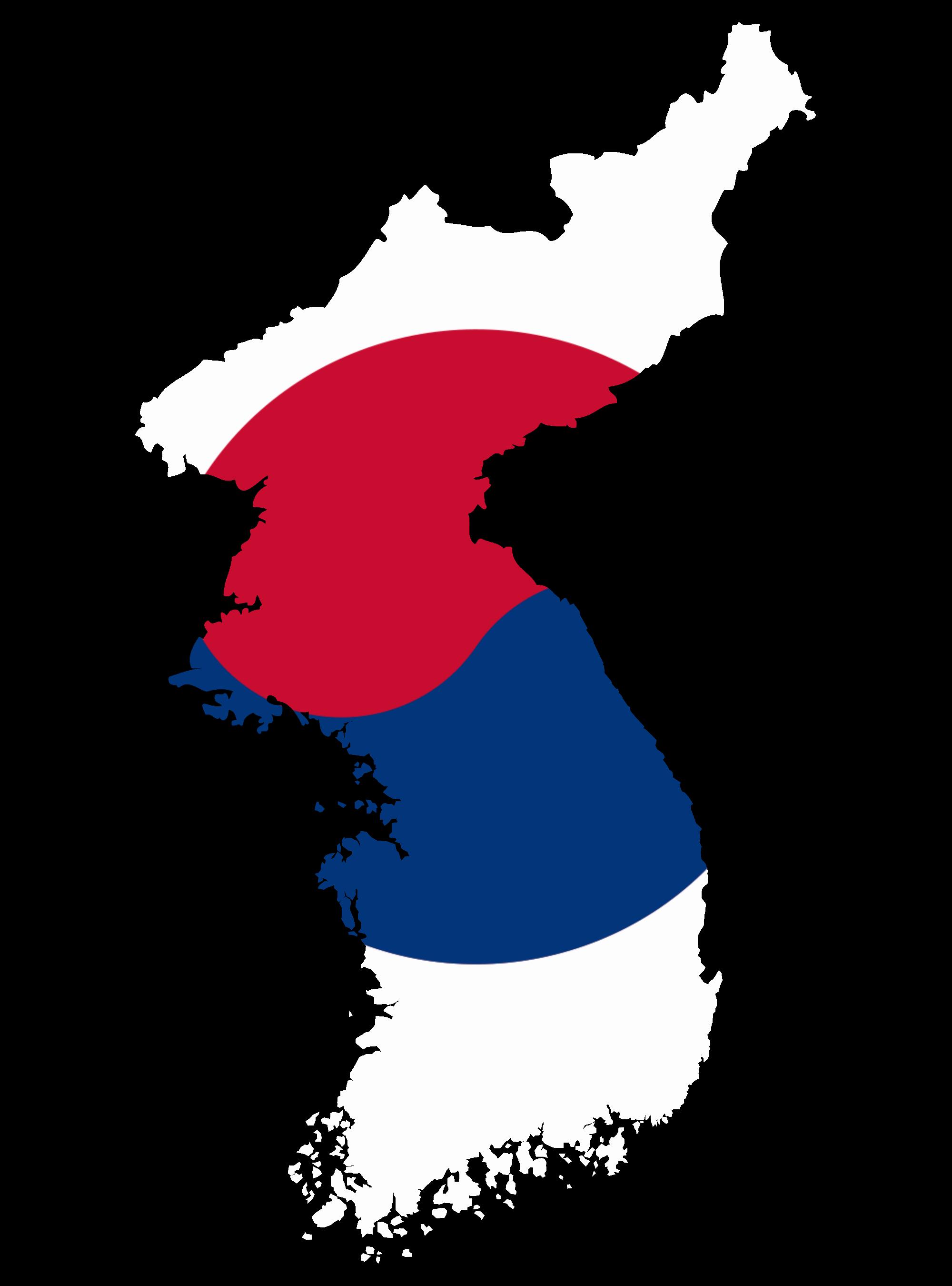 File:Flag map of Korea (South Korea).png.