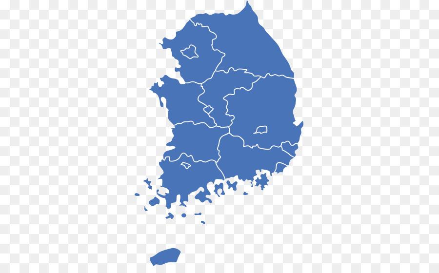 South Korea Map Free Png & Free South Korea Map.png Transparent.