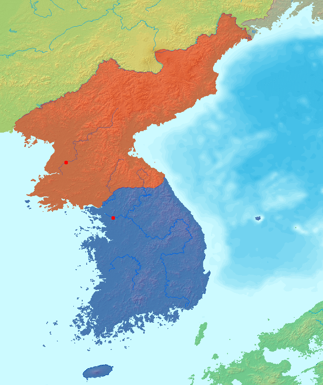 File:Map korea without labels.png.