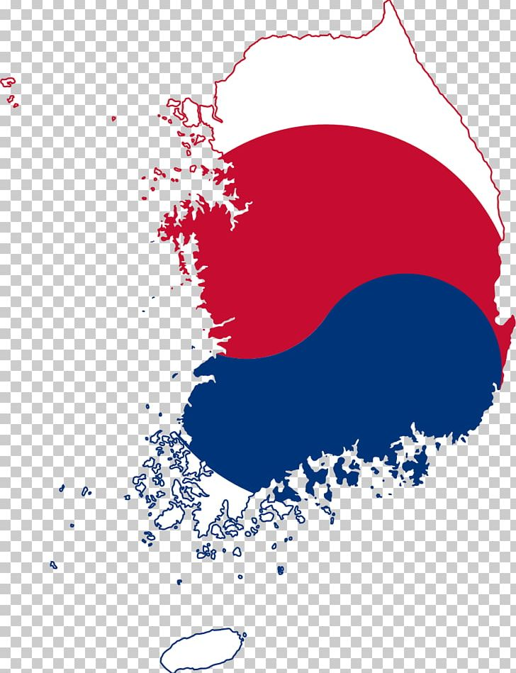 Flag Of South Korea North Korea World Map PNG, Clipart, Area, Blue.