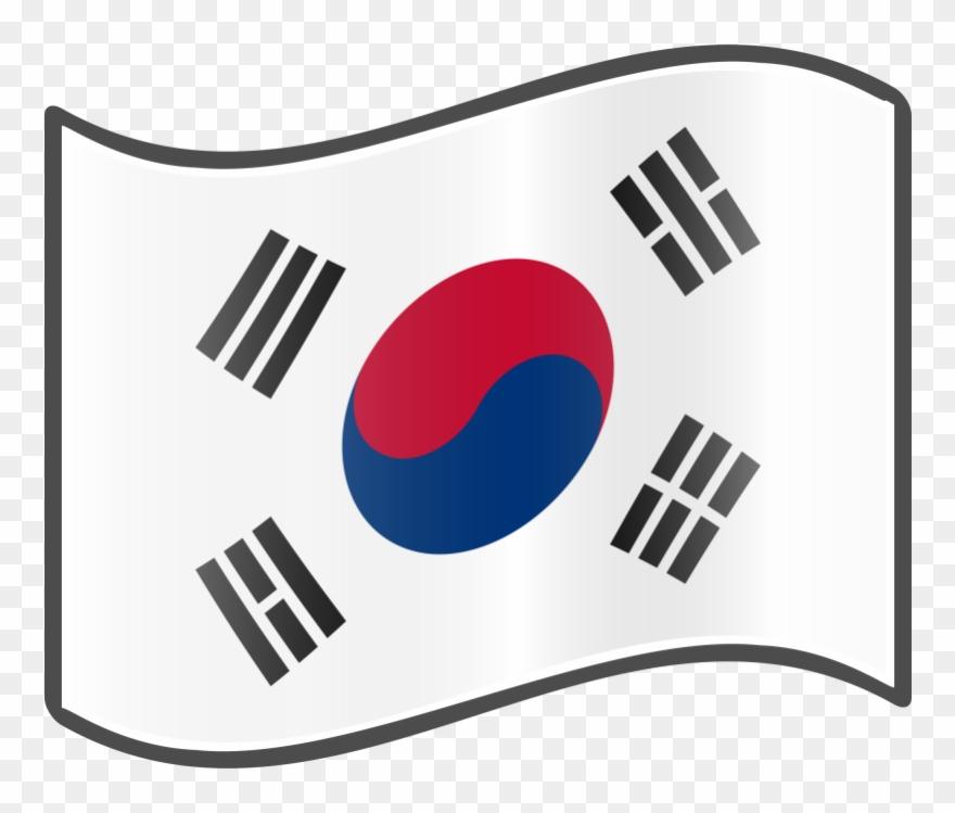 Pin Korea Flag Clip Art.