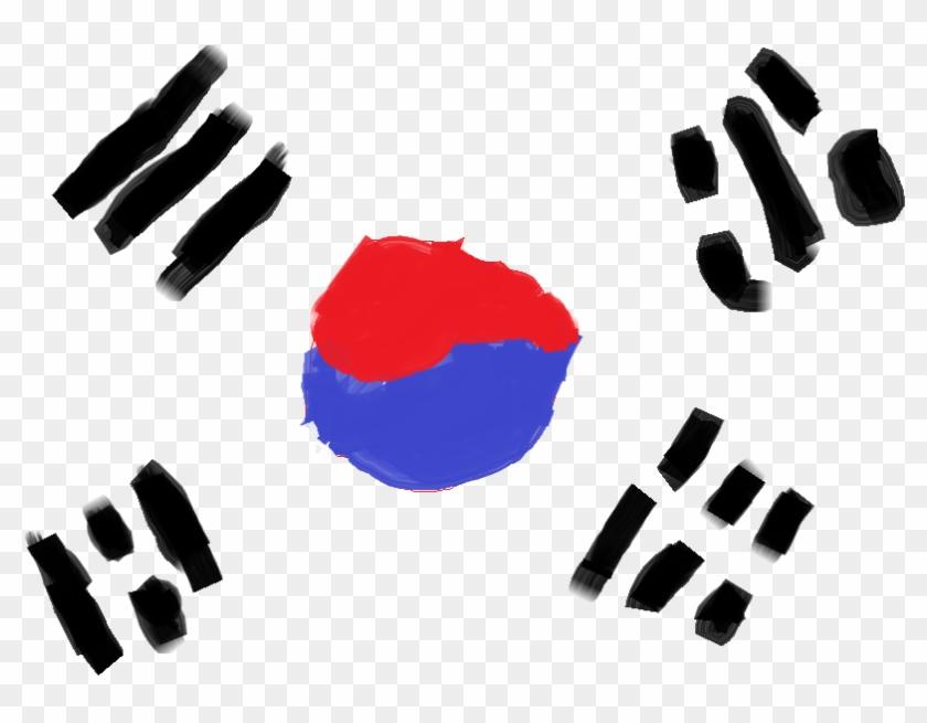 Korea Flag Png Photo.