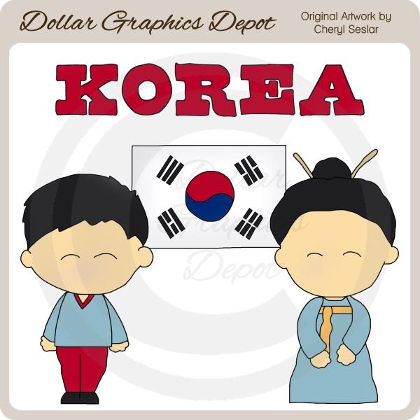 Korean Clip Art Free.