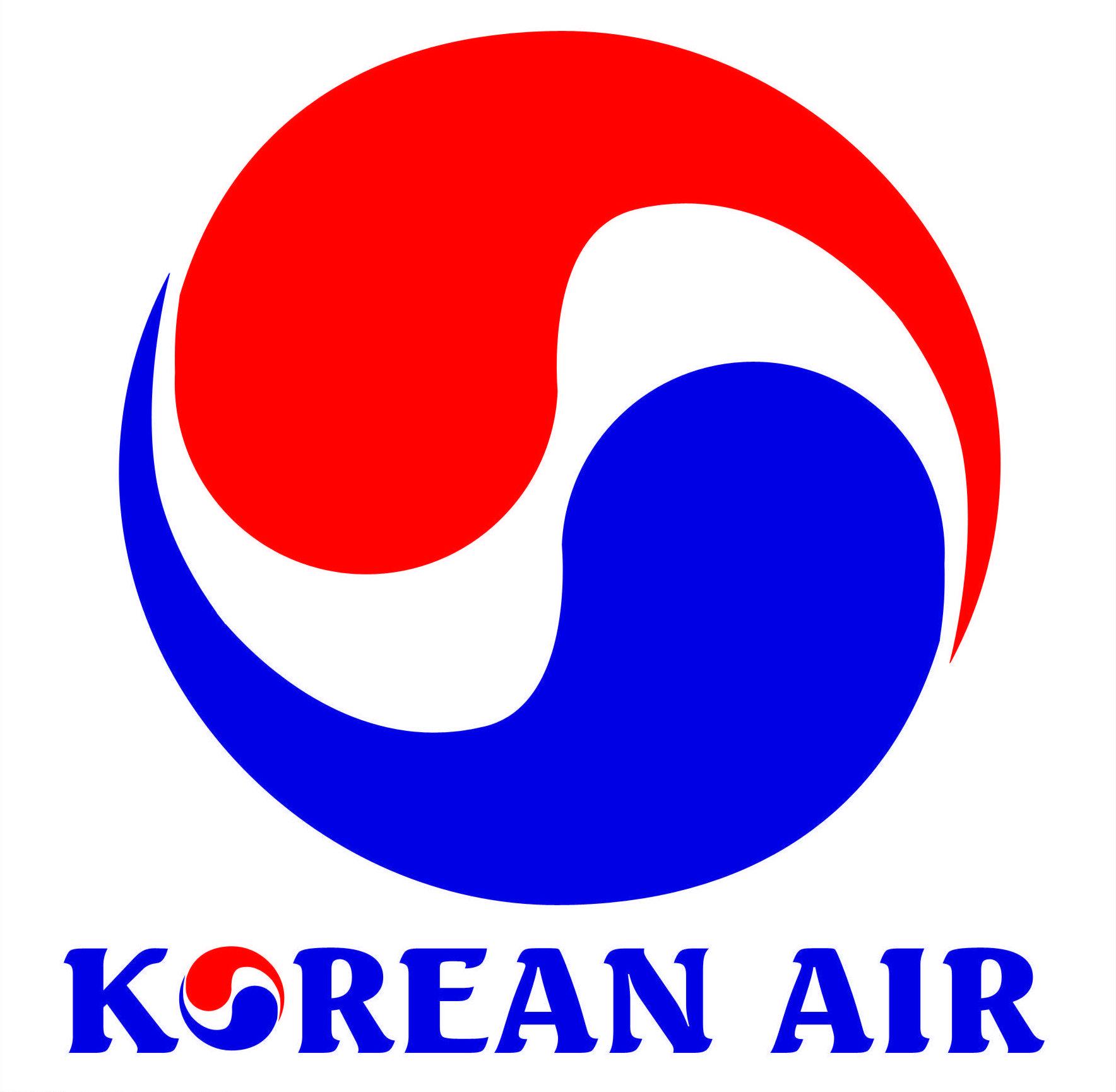 Korean Air (South Korean airline).