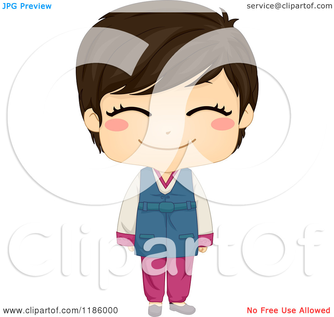 korean cute heart clipart #19