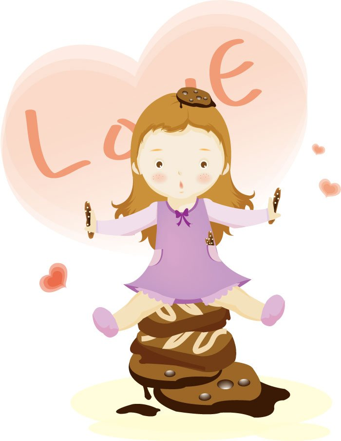 Showing post & media for Chocolate love cartoon.