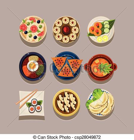 Korean food Clipart Vector Graphics. 479 Korean food EPS clip art.