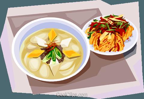 Korean Food Rice.