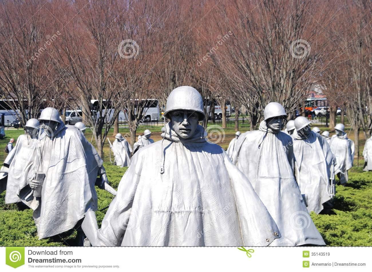 Korean War Veterans Clip Art.