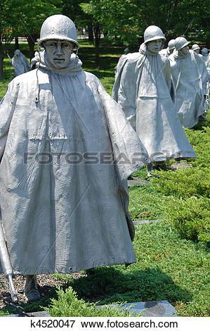 Picture of Korean war veterans memorial k4520047.