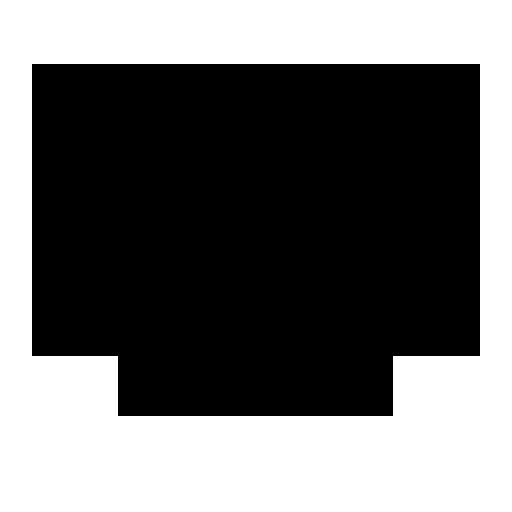 krw south korean won symbol icon.