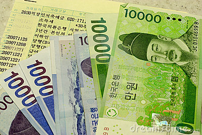 Korean Won Stock Photos, Images, & Pictures.