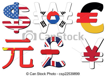 Korean won Clipart Vector Graphics. 46 Korean won EPS clip art.