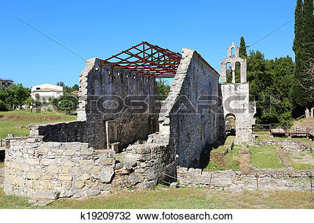 Stock Photo of Paleopolis Kerkyra Korfu k19209732.