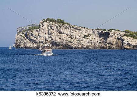 Stock Photo of Dugi Otok Cliff at Kornati Islands, k5396372.