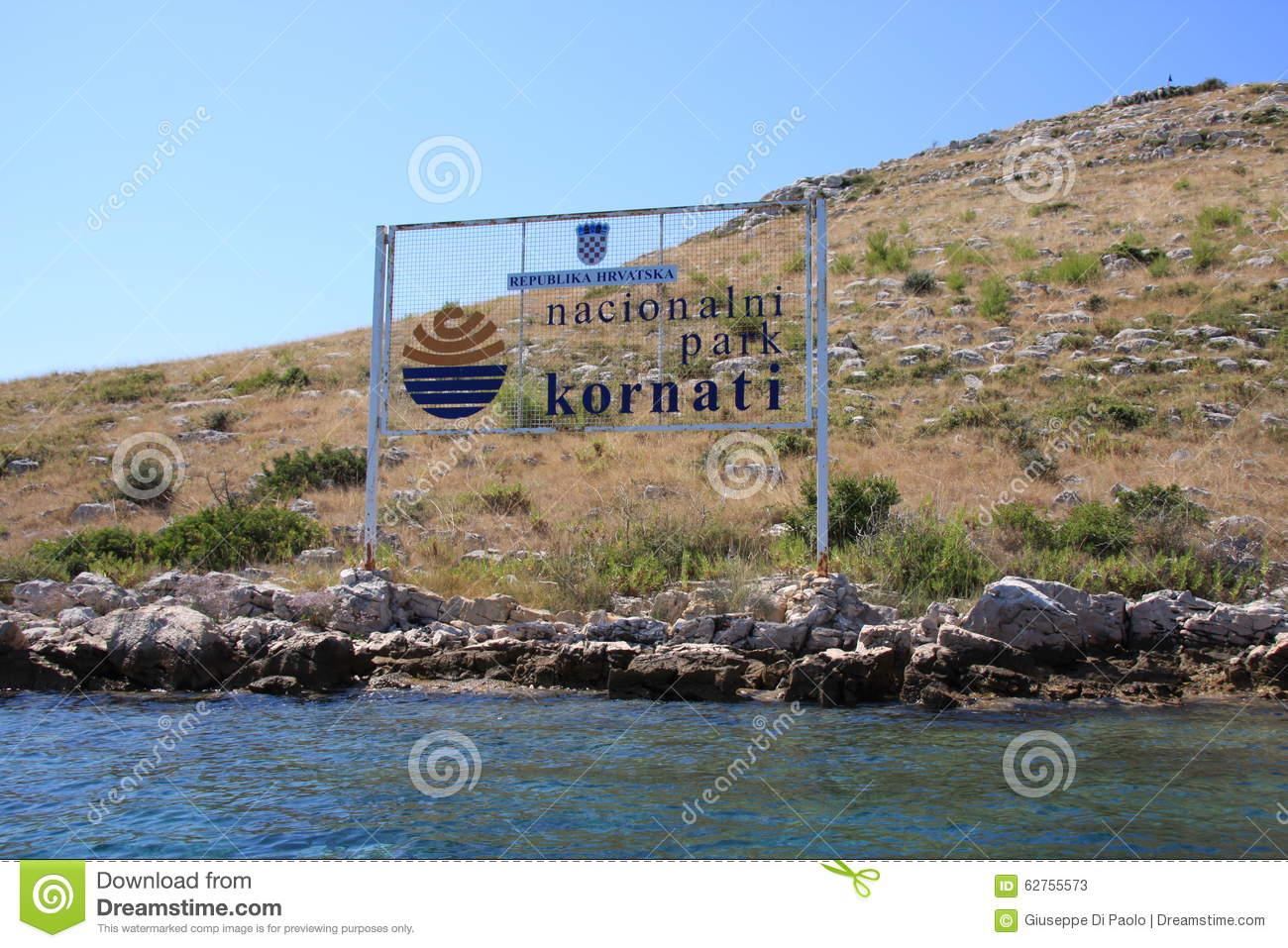 Kornati Island National Park, Croatia Stock Photo.