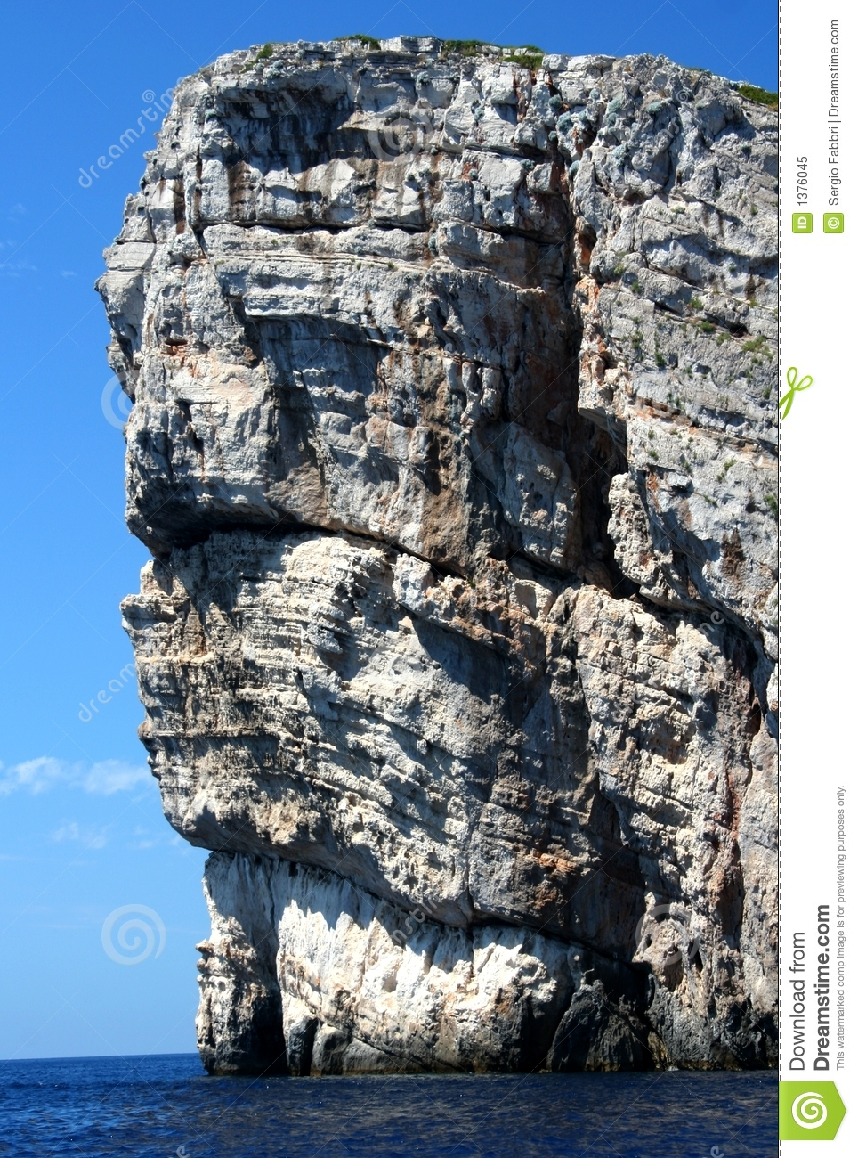 Kornati Islands / Detail Royalty Free Stock Photo.