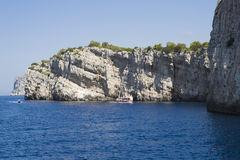Dugi Otok Cliff At Kornati Islands, Croatia. Royalty Free Stock.