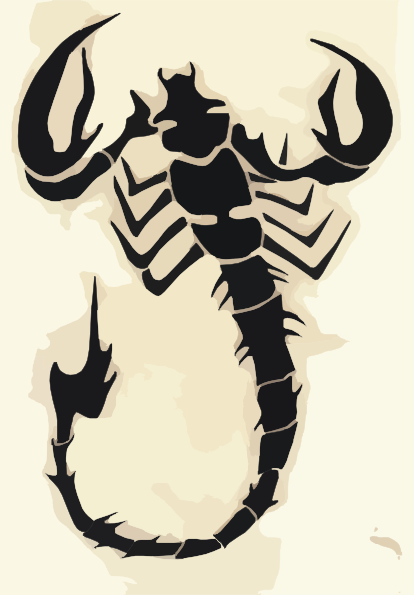Scorpion Clip Art at Clker.com.