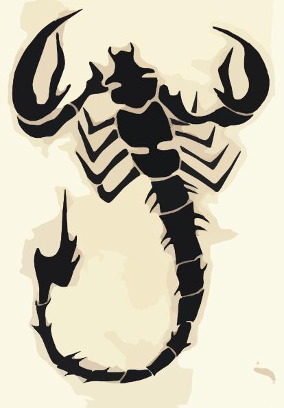 Scorpion Clip Art at Clker.com.