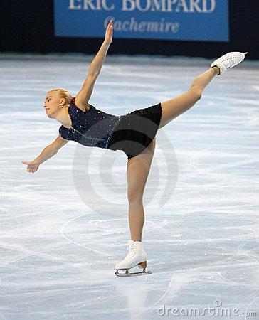 Kiira KORPI (FIN) Free Skating Editorial Image.