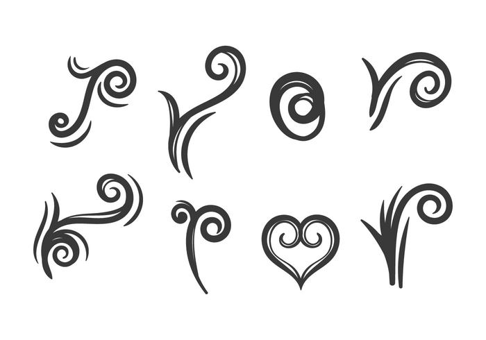 Free Koru Icons Vector.