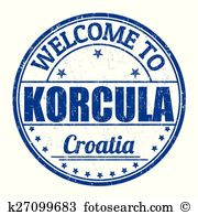Korcula Clipart Vector Graphics. 6 korcula EPS clip art vector and.