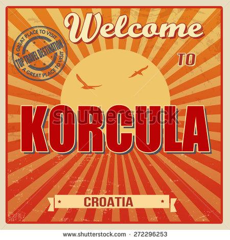 Korcula Croatia Stock Vectors & Vector Clip Art.