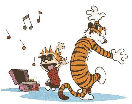 Calvin & Hobbes collection.